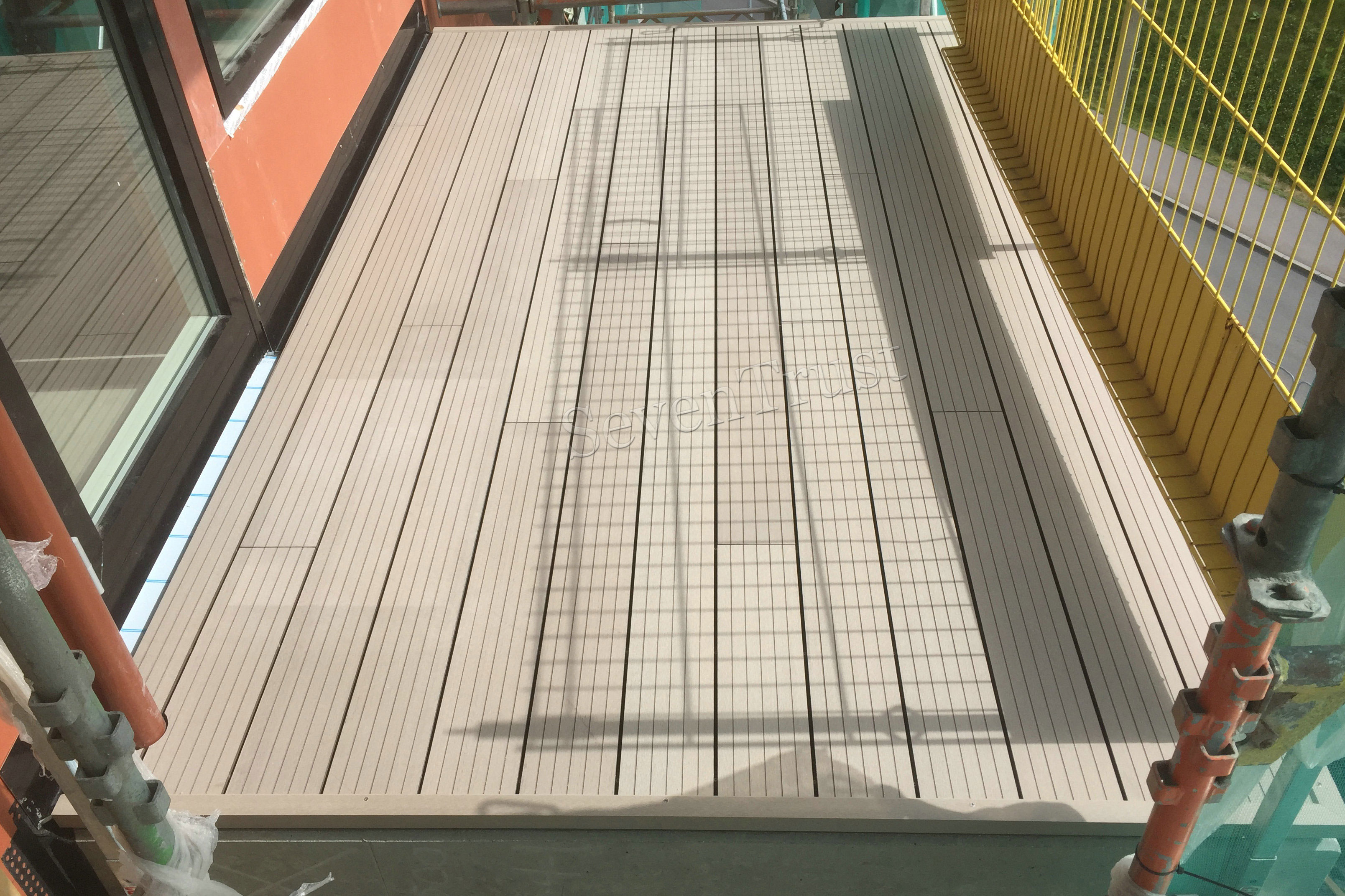 norway composite decking project