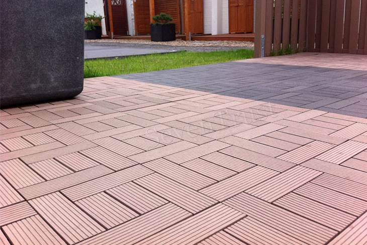 wpc decking in russia