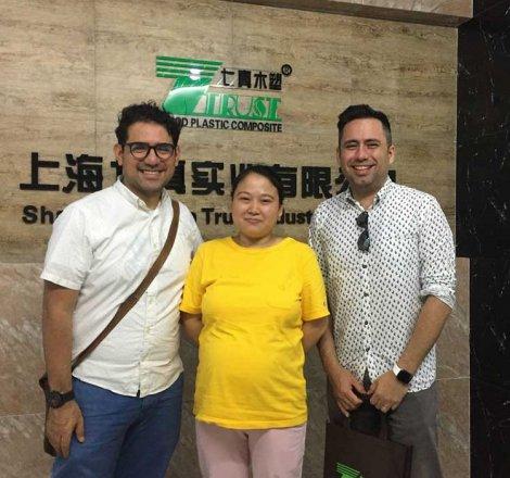 20190606 Cliente de Hong Kong para Wall Panel
